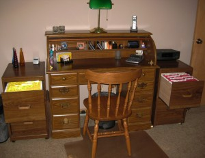 Make your home or office run more efficiently with a well organized desk!
